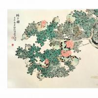 李云飞,1981年生于河北深泽,2006年毕业于南开大学东方艺术系,获学士学位,2012年毕业于南京师范大学,获艺术硕士学位,现为扬州市国画院专职画家,国家二级美术师,中国美术家协会会员